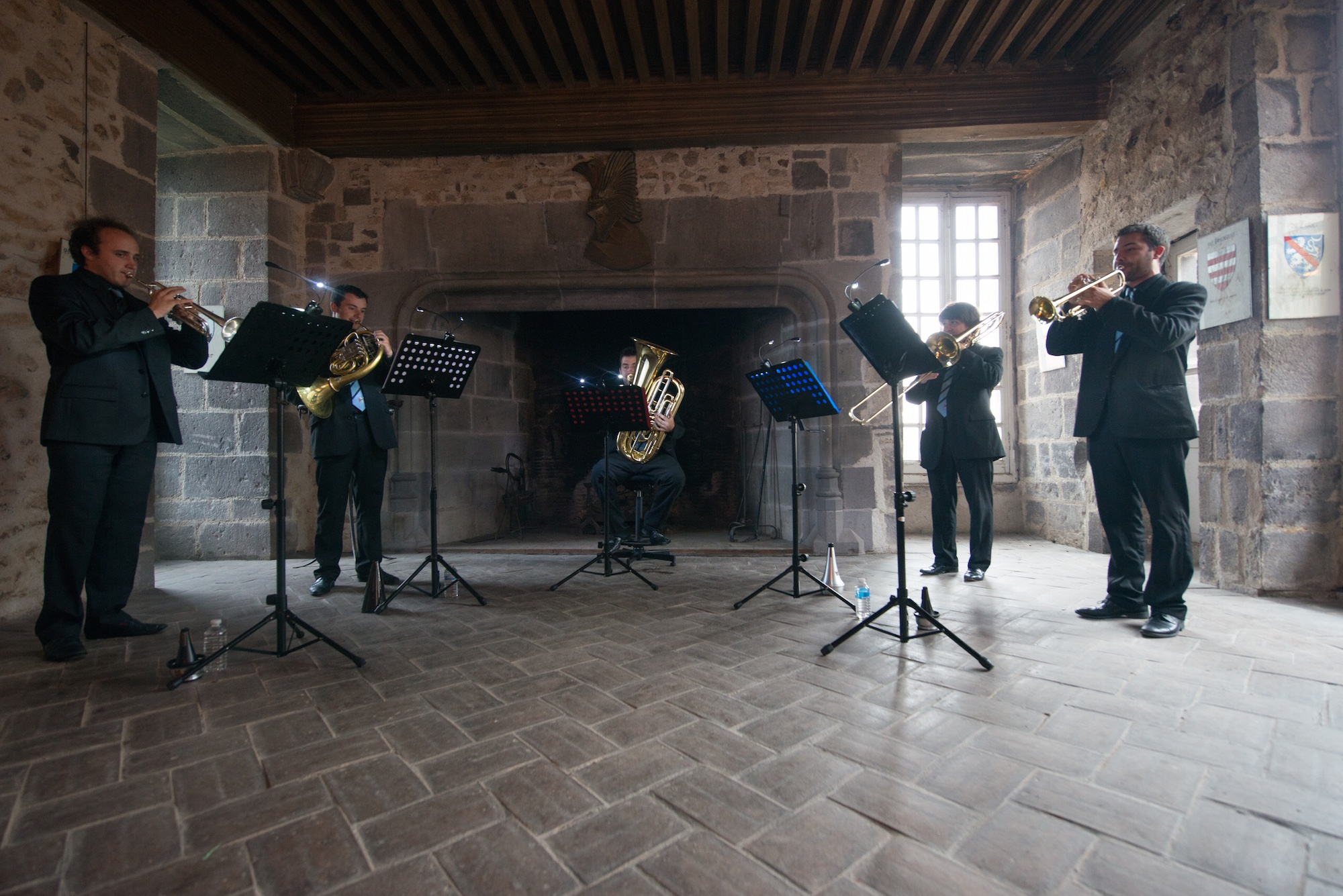 Arverne Brass Quintet - Photo : Gaëlle Hamonic